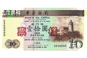 新时期中国银行纸币——澳门币