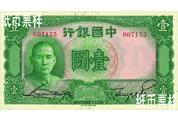 民国时期-孙中山像法币券(1936-1937)
